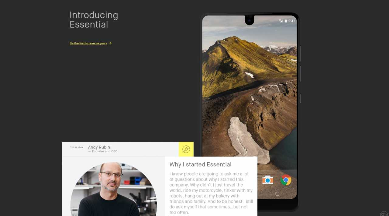 Photo of Essential actualizará su PH-1 a Android 11, gracias a Project Treble