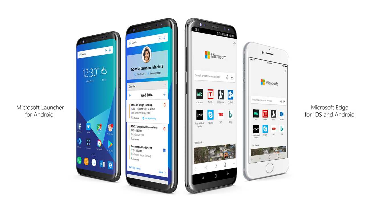 Photo of Microsoft Edge y Microsoft Launcher comienzan hoy la conquista de Android